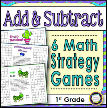 Mental Math Strategy Games for Addition and Subtraction