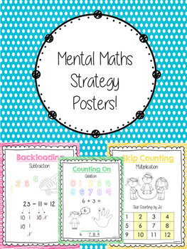 Mental Math Strategy Posters