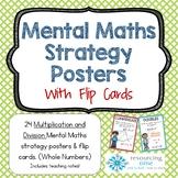 Mental Math Strategy Posters + Flip Cards - Multiply and Divide