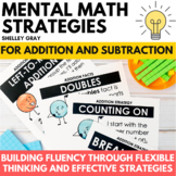 Mental Math Strategy Units: Addition and Subtraction Combo Pack BUNDLE