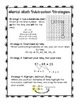 Mental Math Subtraction {{Freebie Pack}}