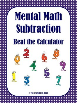 Mental Math Subtraction Game
