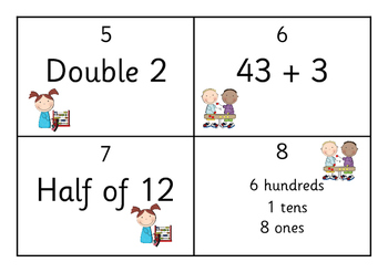 Mental Math Task Cards