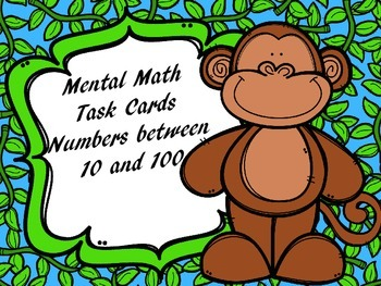 Mental Math Task Cards (Set 2)