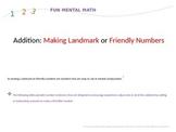 Mental Math Using Making Tens and Landmark or Friendly Numbers Strategies