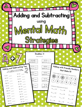Mental Math Worksheets