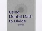 Mental Math to Divide