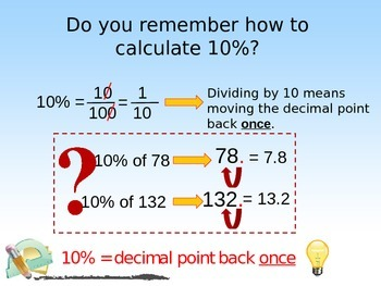 Mental Math with Percentages