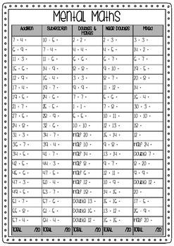 Mental Maths 1