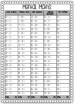 Mental Maths 2