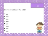 Mental Maths Activities - Multiplication and Division