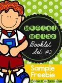 Mental Maths Booklet 3 - SAMPLE FREEBIE