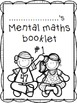 Mental Maths - Booklet / Worksheet Set #1