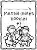 Mental Maths - Booklet / Worksheet Set #1
