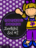 Mental Maths - Booklet / Worksheet Set #2