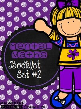 Mental Maths - Booklet / Worksheet Set #2