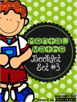 Mental Maths - Booklet / Worksheet Set #3