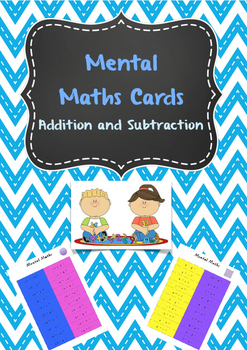 Mental Maths Cards For Daily Practise - two levels