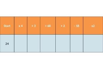 Mental Maths Class Starters