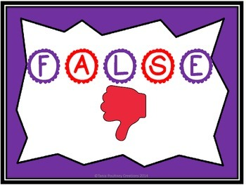 Mental Maths Game- True and False