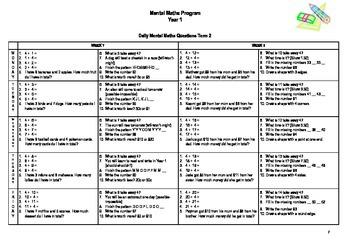 Mental Maths Program