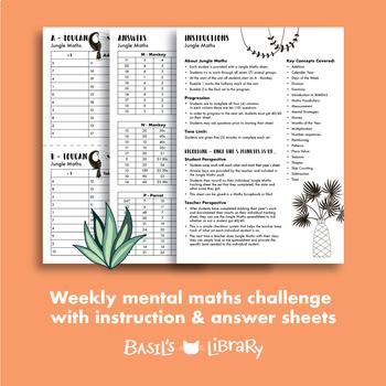 Mental Maths Program | Jungle Maths