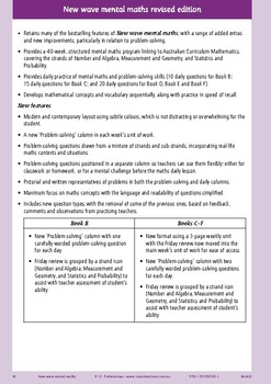 Mental Maths Workbook Year 4 - Australian Curriculum Aligned