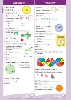 Mental Maths Workbook Year 6 - Australian Curriculum Aligned