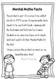 Mental Maths Worksheet Grade 1