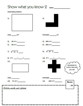 Mental Multiplication Plan and Worksheets Y5-6 Level 3 links with Measurement