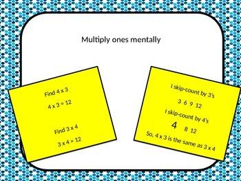 Mental Multiplication Power Point
