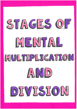 Mental Multiplication and Divsion Pathway