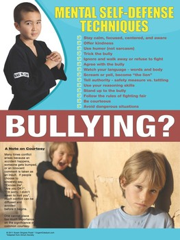 Mental Self-Defense Techniques (Bullying Prevention)