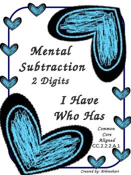Mental Subtraction 2 Digits