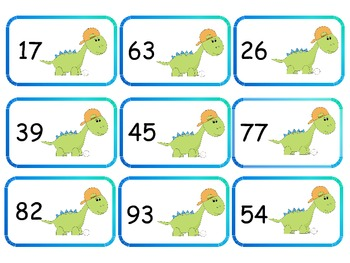 Mental Subtraction Finding Parts of 100