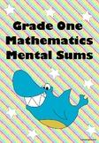 Mental Sums Mathematics Grade One