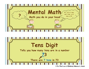 Mental Two-Digit Addition Strategies for Common Core Standards