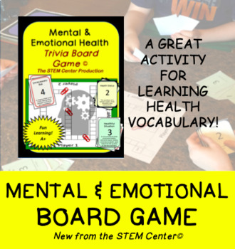 Mental and Emotional Health Trivia Board Game