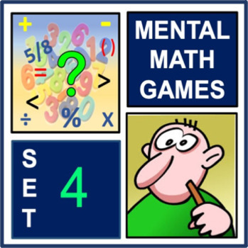 Mental Math Games Set 4