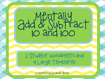 Mentally Add and Subtract 10 and 100