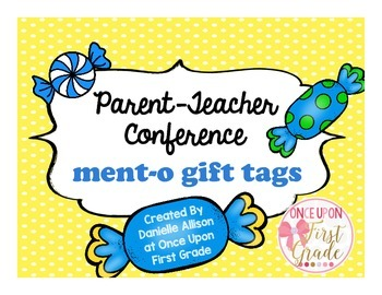 Mento Parent-Teacher Conference Thank You Tag