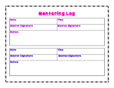 Mentor Log Form