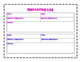 Mentor Log Form