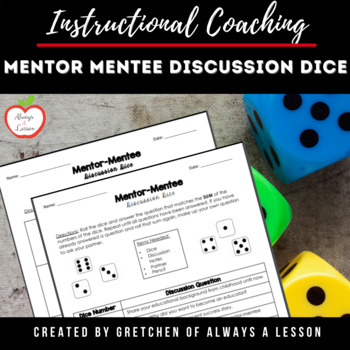 Mentor - Mentee Discussion Dice