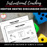 Mentor - Mentee Discussion Dice Activity [Editable]