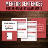 Mentor Sentence Grammar Packet for Refugee by Alan Gratz