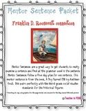 Franklin D. Roosevelt {Mentor Sentence} #2fortuesday