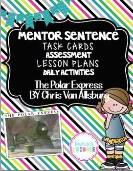 Mentor Sentence Pack 2 Assessment, Daily Work, Task Cards