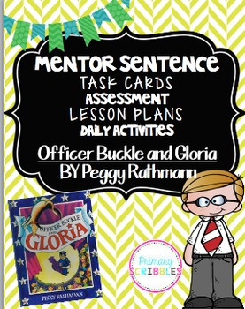 Mentor Sentence Pack 3 Assessment, Daily Work, Task Cards