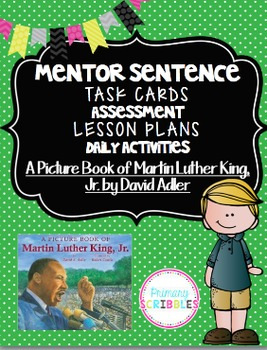 Mentor Sentence Pack 5 Assessment, Daily Work, Task Cards,